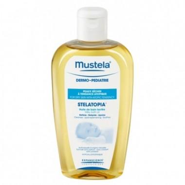 mustela-stelatopia-aceite-de-baño-250-ml