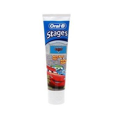 oral-b-pasta-stages-3-5-7-años-75ml-gusto-a-frutas-dos-diseños-para-agradar-cars-o-princesas