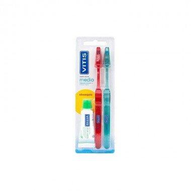 vitis-cepillo-medio-2-uds-vitis-pasta-dental-aloe-15-ml