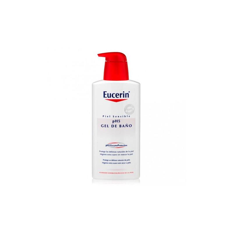 Eucerin gel de ba o piel sensible 1000 ml mister farma - Gel de bano ...
