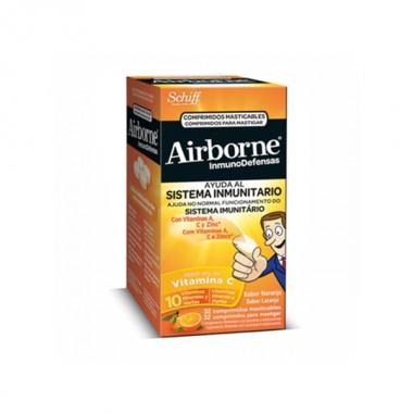 airborne-inmunodefensas-sabor-naranja-32-comp-masticables
