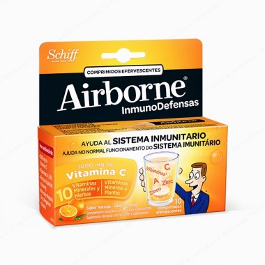 airborne-efervescente-naranja-10-comprimidos