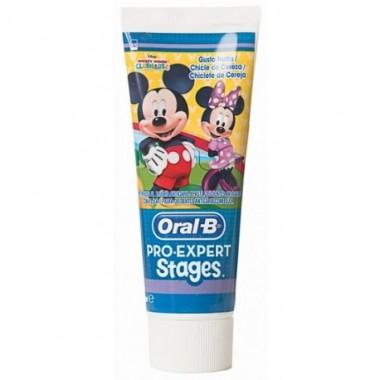 oral-b-stages-pasta-dental-infantil-disney-sabor-chicle-de-cereza-75ml