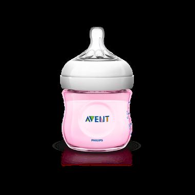 avent-natural-biberon-tetina-silicona-ancha-rosa-0m-125ml