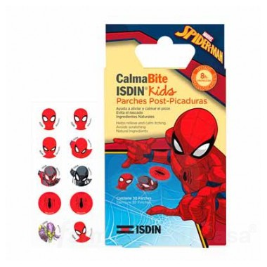 isdin-kids-calmabite-parches-post-picaduras-spiderman-30uds