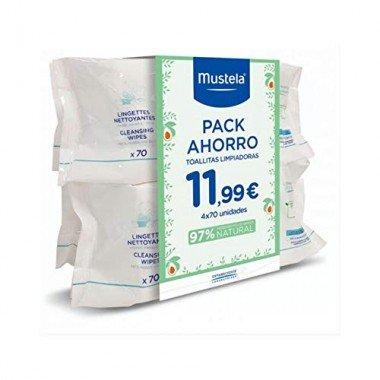 mustela-toallitas-pack-4x70